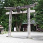 出羽三山神社(羽黒山)鳥居